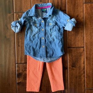 Toddler girls 18m outfit